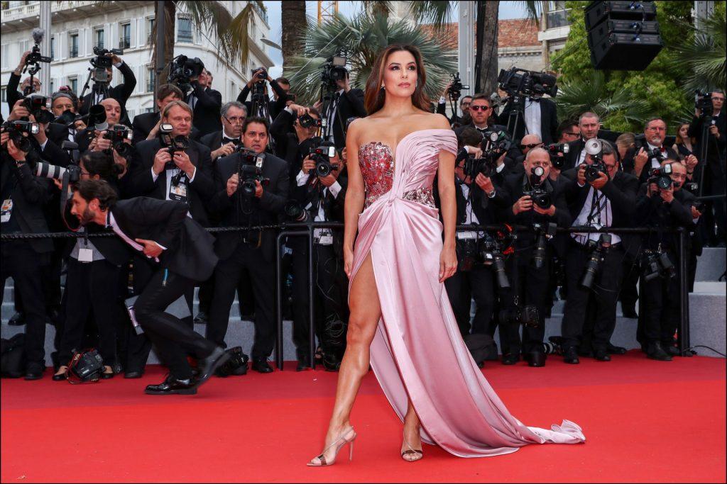 8757ee49ae El vestido de Eva Longoria